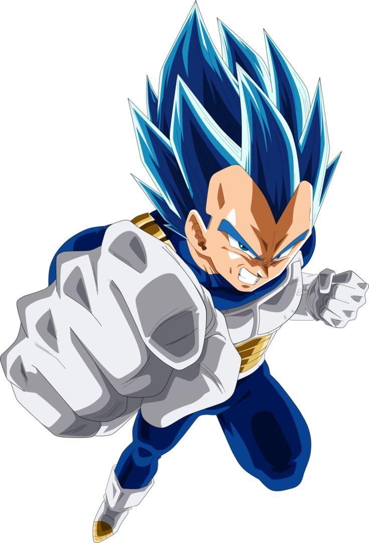 FAN ART VEGETA Blue #DragonBallSuper #Anime