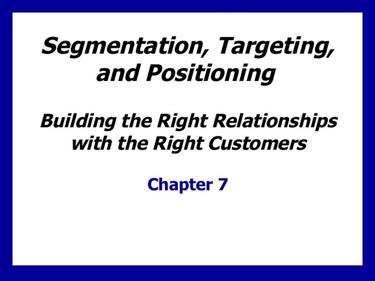 relationship between segmentation targeting and positioning What is the relationship between segmentation, targeting and positioning follow upvote report question comments (0) register to answer this question  explain the relationship between market segmentation targeting and positioning   upvote (2) downvote reply (0  the next stage is market positioning see more answers (3).