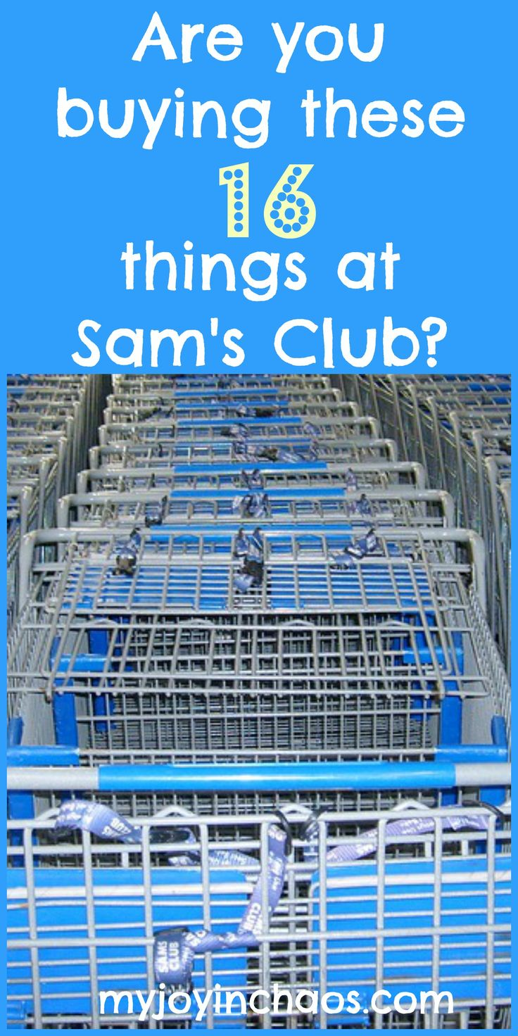 Are you buying these 16 things at Sam's Club? #samsclub #bulkshopping #groceries