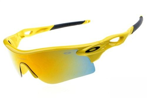 Oakley Radarlock Pitch sunglasses yellow / fire iridium - Up to 86% off Oakley sunglasses for sale online, Global express delivery and FREE returns on all orders. #Oakley #sunglasses #cheapoakleysunglasses #mensunglasses #womensunglasses #fakeoakeysunglasses