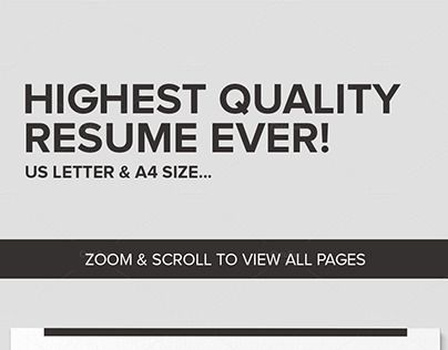 207 best Resume Templates many free images on Pinterest Resume - resume layout templates