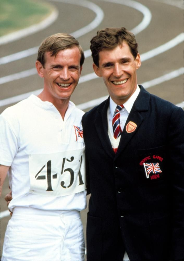 Ian Charleson and Ben Cross, Chariots of Fire.