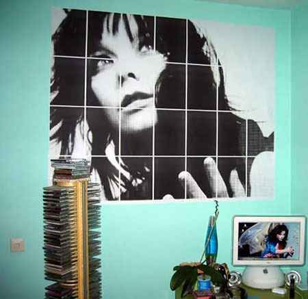 Wall art generator. Enlarges images to multiple pages, which you can then print and combine into huge posters.