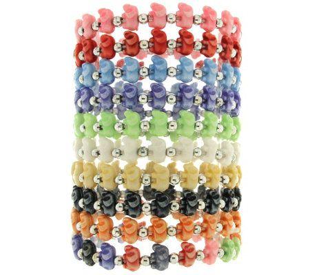 Trrtlz Set Of 10 Stretch Animal Bracelets Jewelry Pinterest And
