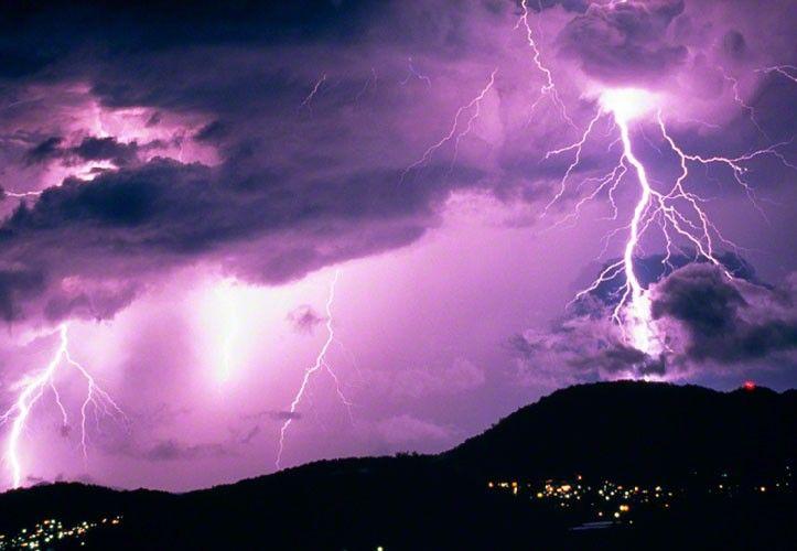 "Peter Lik Photography ""Midnight Storm"""