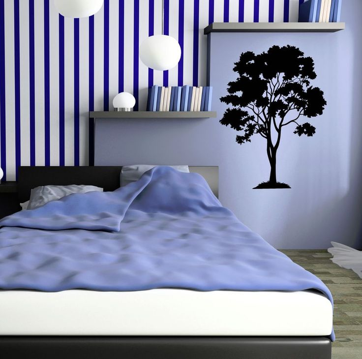 Tree Forest Wood Home Decoration Wall Stickers Vinyl Decal (ig3155) #WallStickers4you