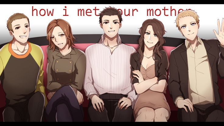 If How I Met Your Mother was anime