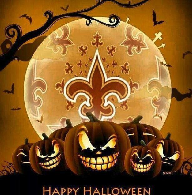 New Orleans Saints Happy Holloween