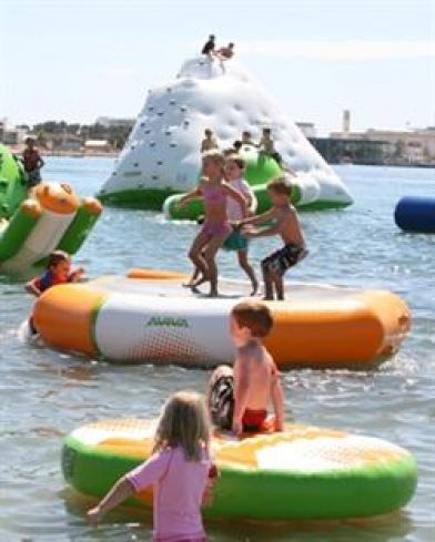 Just 4 Fun Aqua Park: Water playground for all ages - First of it's kind in Australia right in the heart of #Mandurah