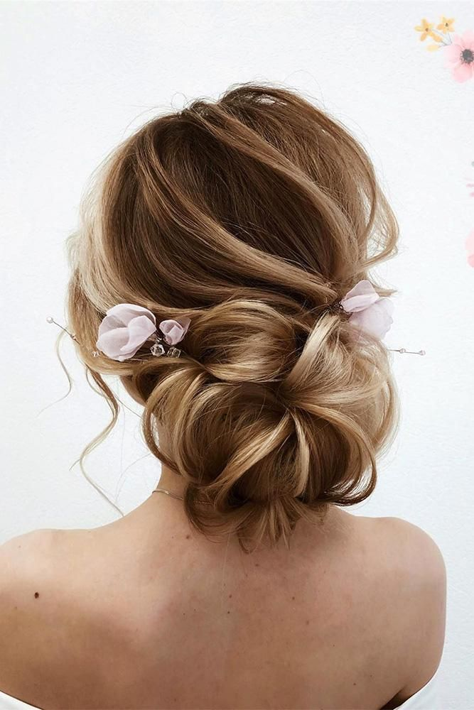 36 Pretty Swept Back Wedding Hairstyles