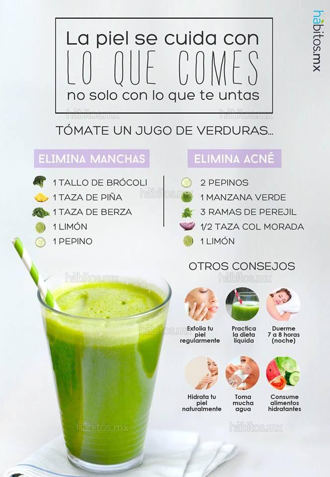 Hábitos Health Coaching | JUGOS DE VERDURAS PARA CUIDAR LA PIEL