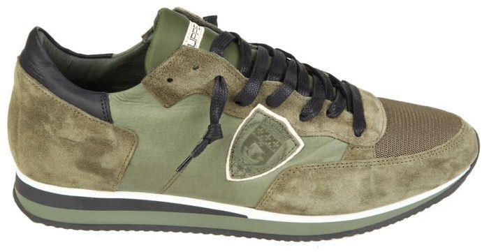 Philippe Model Sneakers Tropez Green Suede