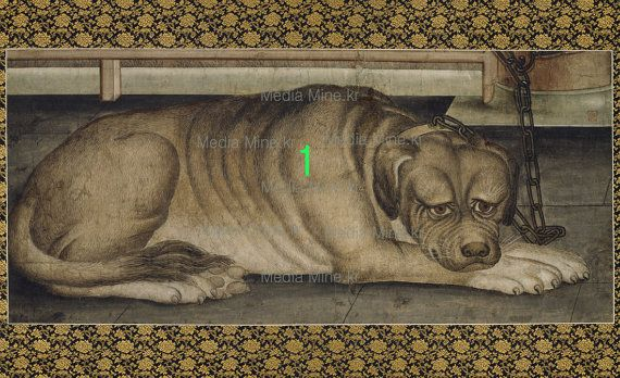 10.Puppy, Dog -Asian Fine Art Print for Interior Frame, Collection-Order-Made(BUY 2 GET 1 FREE!!!)