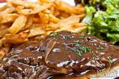 Receita de Bife com molho madeira em receitas de carnes, veja essa e outras receitas aqui!
