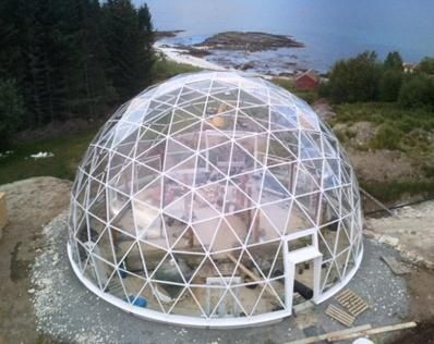 Diana Hollacher S Solardome Architecture Glass Domes