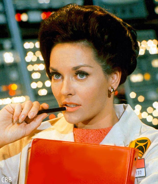 Time Tunnel (1960s US TV show) - the very pretty Lee Meriwether as Dr. Ann MacGregor.