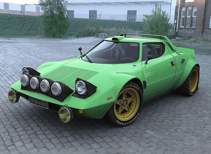 Lancia Stratos - Hello Gorgeous!