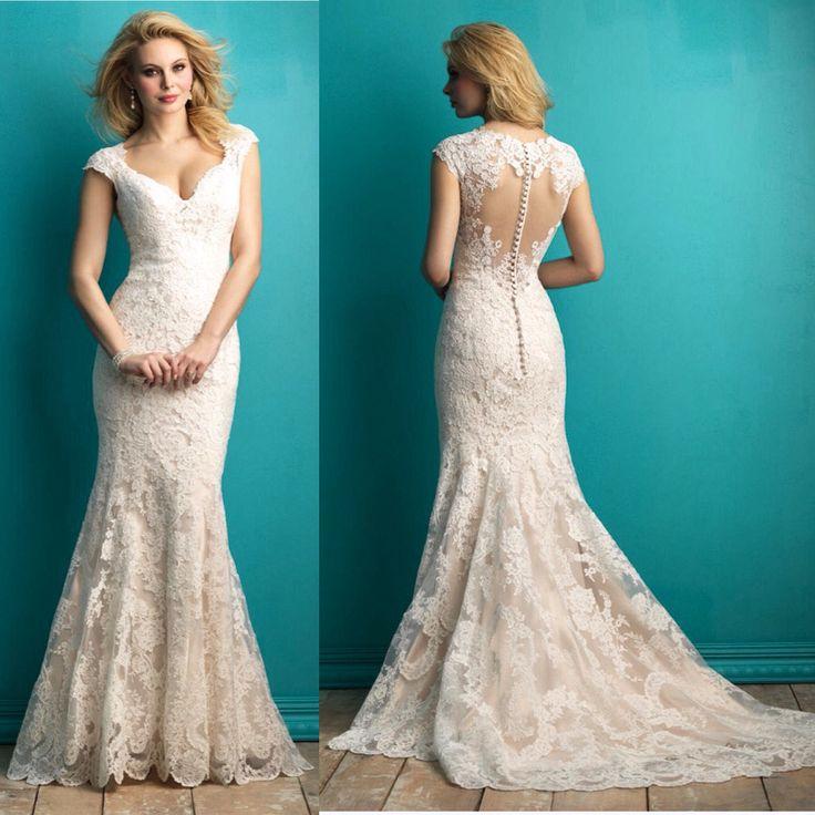 8 best allure bridal images on pinterest allure bridal for Cheap allure wedding dresses