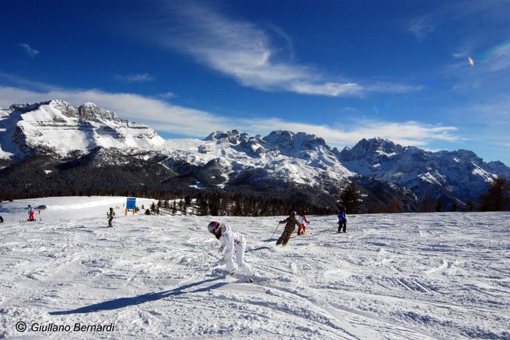 Skiing in Madonna di Campiglio