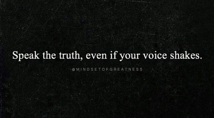 Even if your voice SHAKES!