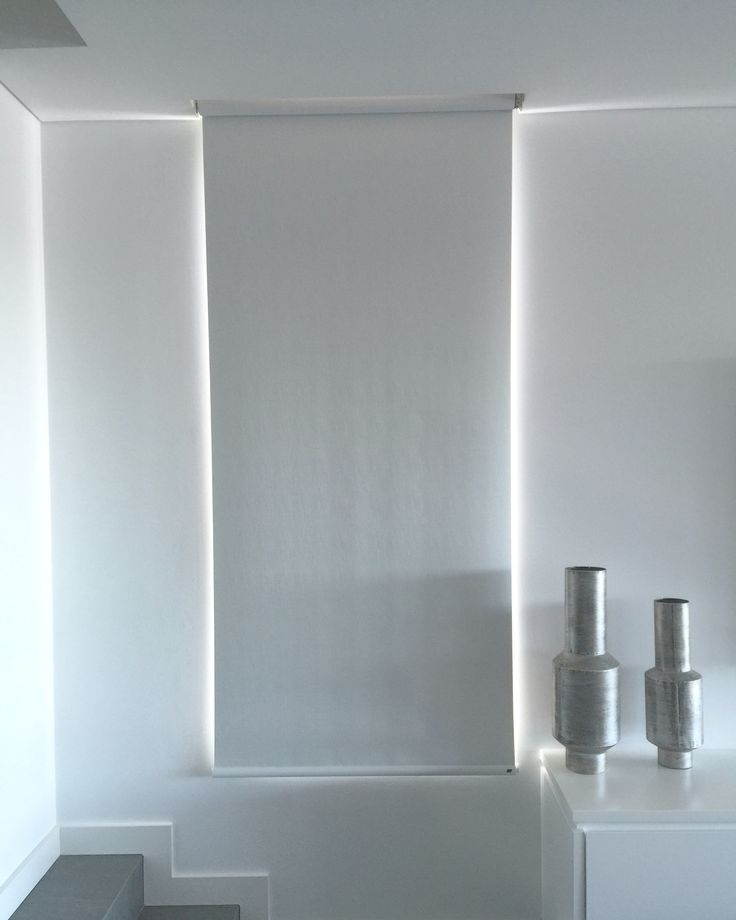 #white on white everywhere with our #dual #rollerblinds for day and night #parkshuttersandblinds #luxaflex #homeautomation #nocords
