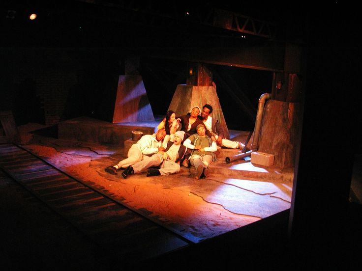 In the Blood (Dobama Theatre), By: Suzan Lori-Parks, Scenic Design: Todd Krispinsky