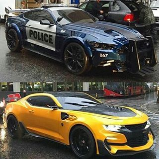Transformers 5:  Barricade Or Bumble Bee?