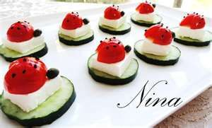 ladybug food ideas - Bing Images