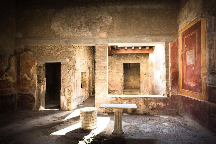 #interiordesign in #pompei #ruins #red #home #homedesign #interiors #style #photo #photooftheday...