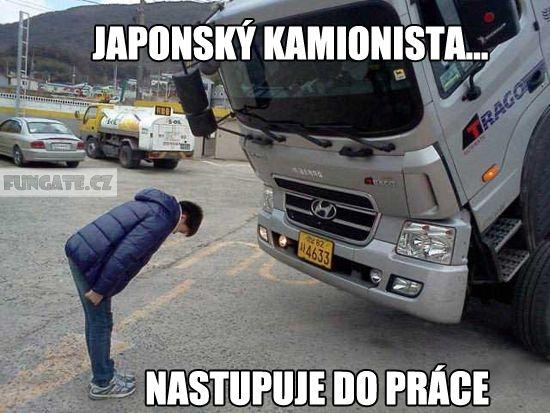 Japonský kamionista