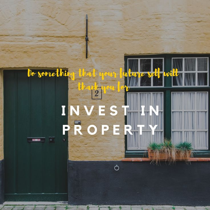 Invest in property. I love investing in land and property – land is a scarce resource and apparently God isn't making any more! Returns from property over time have been staggering – and often people make more money on the increased value in their own home than they do working for a living – make sure you capture some of that growth. #wealth #profit #money #property #invest #future #financialfreedom #ideas #entrepreneur