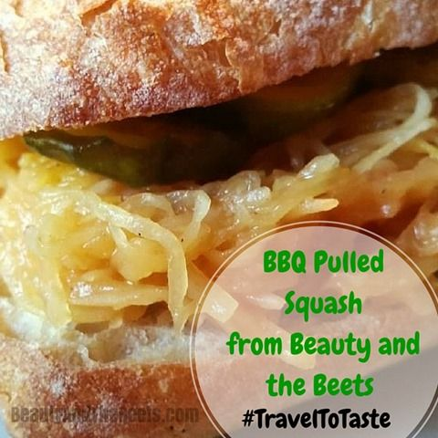 What does Trip Advisor have to do with BBQ Pulled Squash? #TravelToTaste