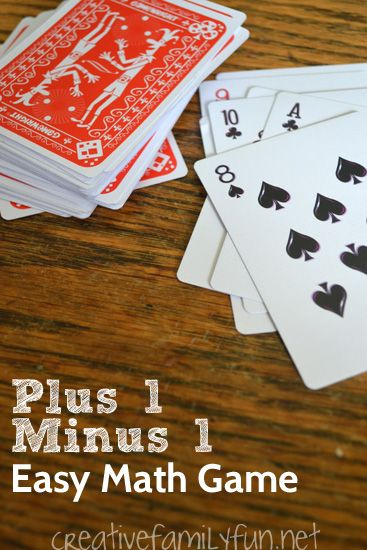 Plus 1 Minus 1 is an easy math game that reinforces the concepts of adding 1 to a number and subtracting 1 from a number.