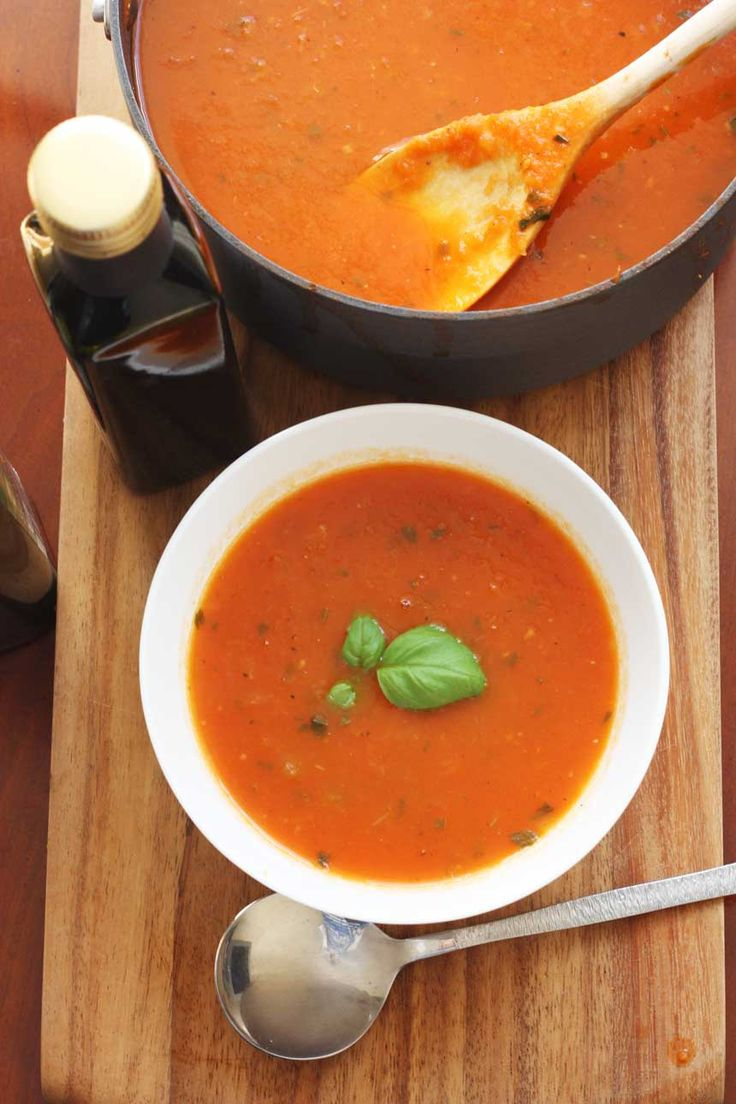This bring on the warmth after a chilly afternoon: A classic tomato soup to have in your recipe repertoire!