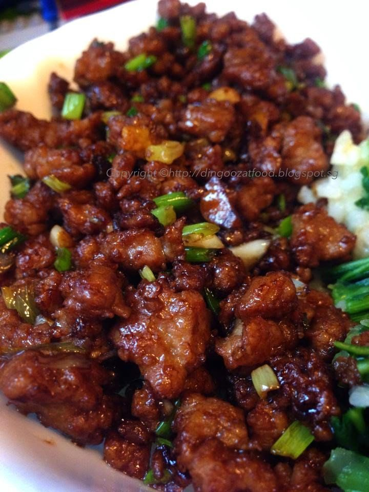 Miki's Food Archives : Po Po's Recipe Minced Meat (My Mom's Recipe)