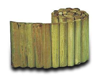 Kantbånd leveres på rull á 200 cm. Godt egnet bl.a. rundt bed. Trykkimpregnert.