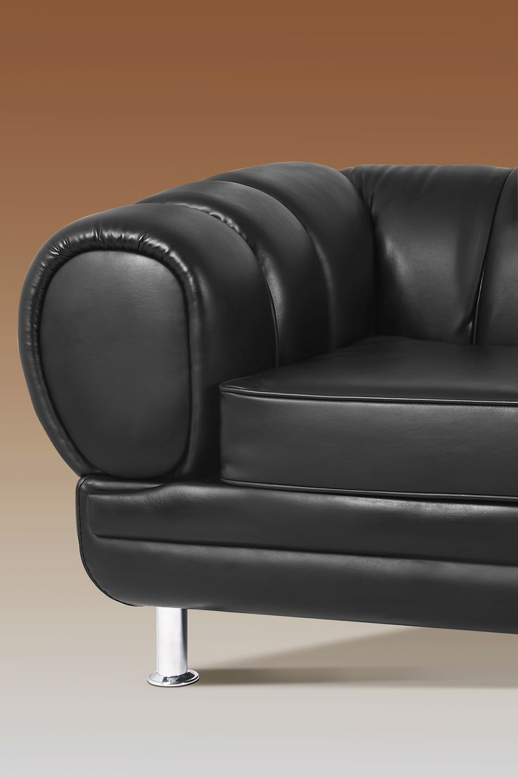 Novak is a sofa that combines some details from mid-century style with a contemporary design vision. The base is rectangular, but it has a contrasting low back with rounded shapes, upholstered with a sophisticated leather and finished with piping detail. http://inspirationdesignbooks.com/