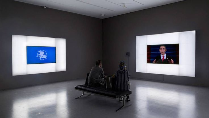 "Artists Josh Kline was inspired to make a computer-enhanced video titled ""Hope and Change"" that's on exhibit at the Hirshhorn Museum in Washington, but later grew disillusioned with what Obama was able to accomplish."