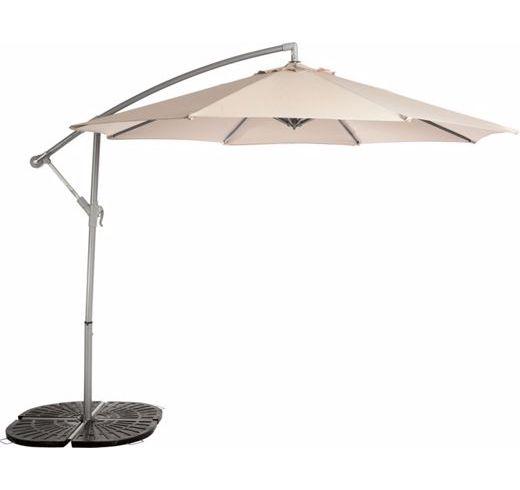 overhanging parasol cantilever parasol garden parasols replacement ...