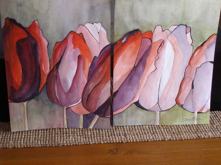 2 luik, tulpen