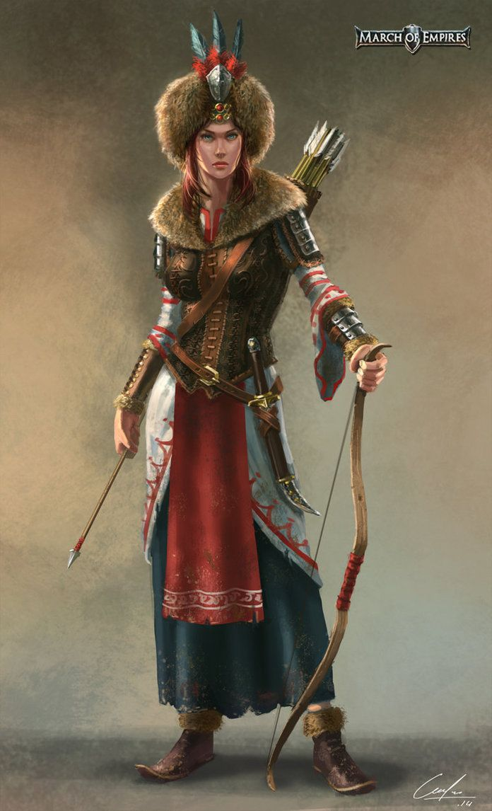 Russian Archer Hero By Artofjustaman On Deviantart