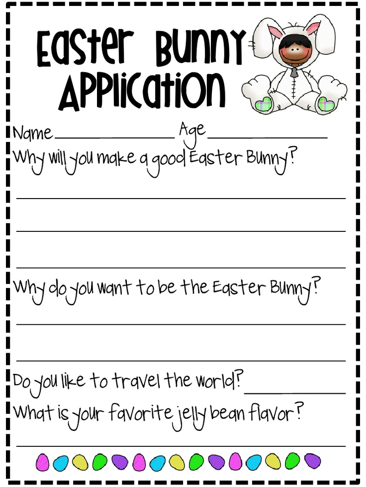 persuasive essay about easter A fun persuasive writing activity for your students - they apply for assistant positions with the easter bunny - 9 different jobs to choose from.