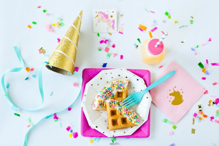 Magical Unicorn Breakfast | The Sweet Lulu Blog