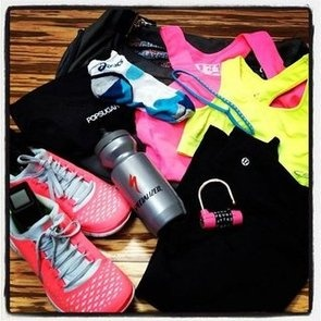 Workout clothes.