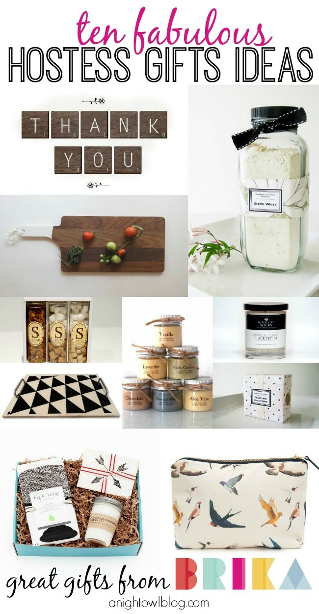 Planning a New Year's party or upcoming gathering? Check out these fabulous Hostess gifts from BRIKA! #wellcraftedgifts
