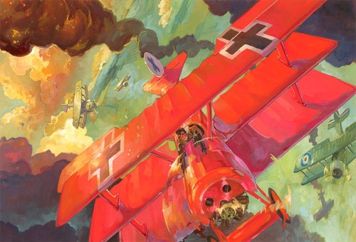 It's The Red Baron! by KaiCarpenter