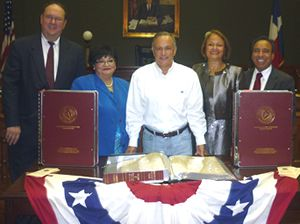 Cameron County Commissioners Court accepts donation of restored minutes : State Bar of Texas Blog