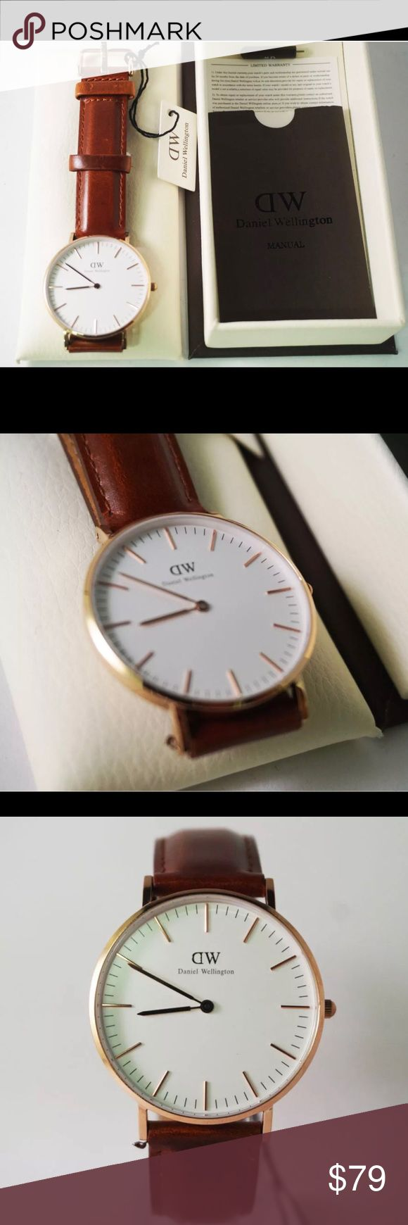 ‼️LIMITED STOCK‼️ DANIEL WELLINGTON CLASSIC WATCH Brand New 36mm Comes with box, international warranty card and tool Daniel Wellington Accessories Watches