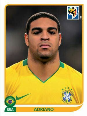 504 Adriano - Brasil - FIFA World Cup South Africa 2010