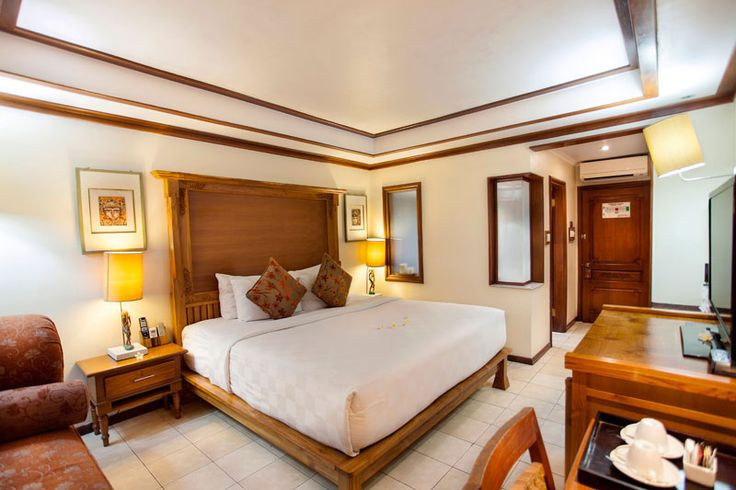 Superior Room Ramayana Resort and Spa is a comfortable room set in the storey building ideally for travelers who want to stay at affordable hotel in Kuta